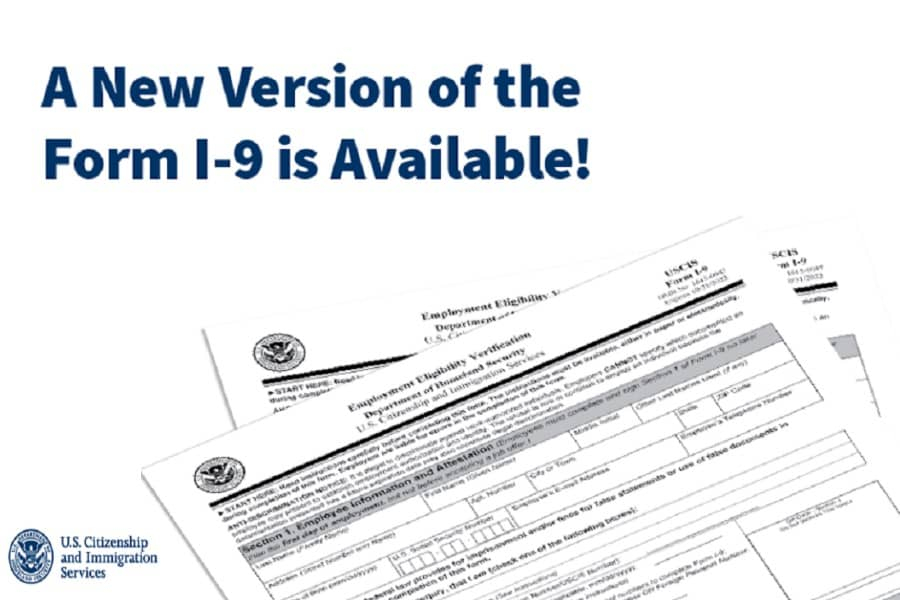 Is There A New I9 Form For 2021