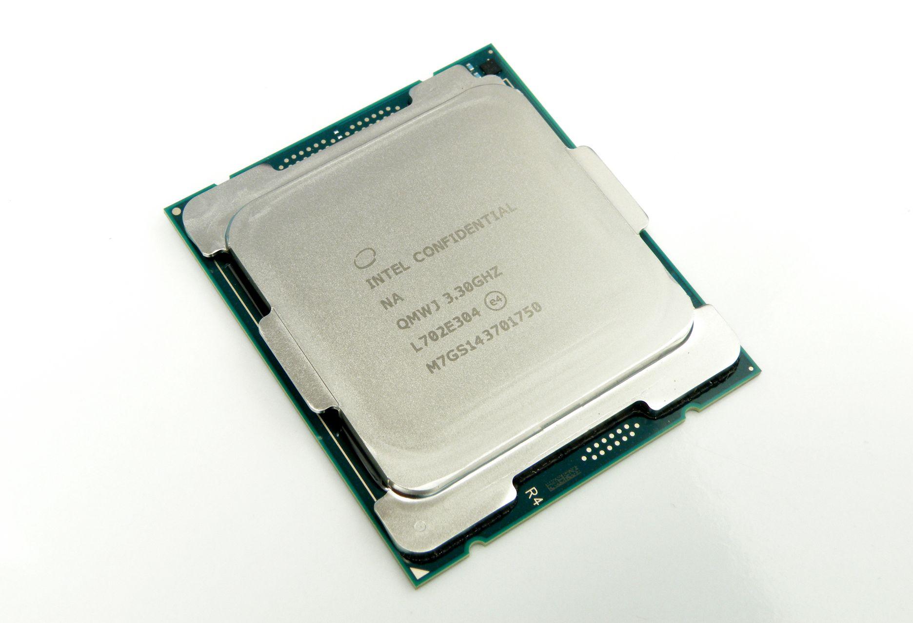 Intel Core I9 7900X Test Intel Core I9 7900X